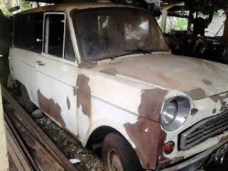 Dijual Mobil Antik Mazda Kotak B600 Mesin Komplit