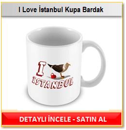 I Love İstanbul Kupa Bardak