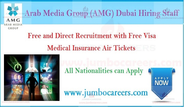 Gulf job openings, Latest job opportunities in Media group Dubai,