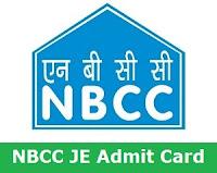 NBCC JE Admit Card