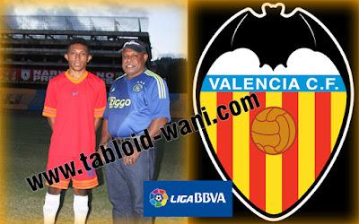 Mantap! Anak Papua Bisa Main ke Klub Raksasa Liga Spanyol (Valencia)