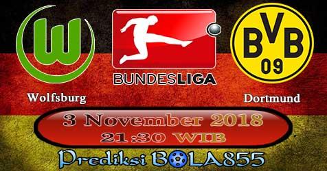 Prediksi Bola855 Wolfsburg vs Dortmund 3 November 2018