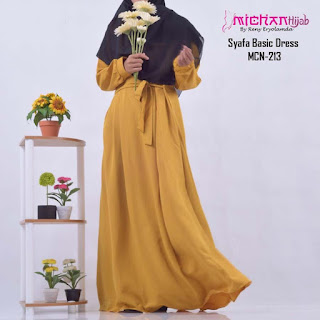 Gamis Michan Hijab Syafa Basic 213