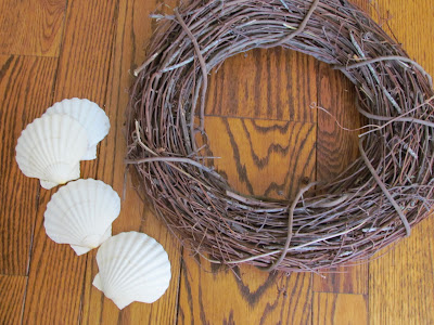 Summer Crafts like our Simple Beach Theme Wreath are a great way to make an affordable version of a favorite store home decor item! This easy summer crafts idea is perfect for any budget!