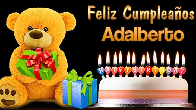 Feliz Cumpleaños Adalberto