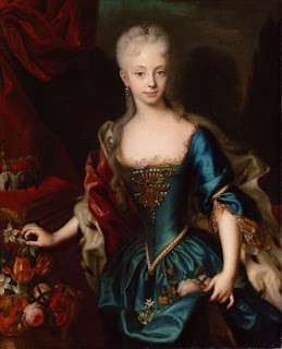 Portrait of Maria Theresa by Andreas Möller