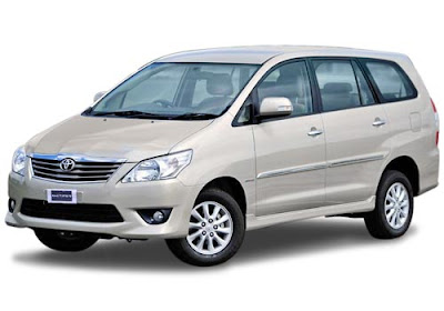 Innova car hire in Delhi