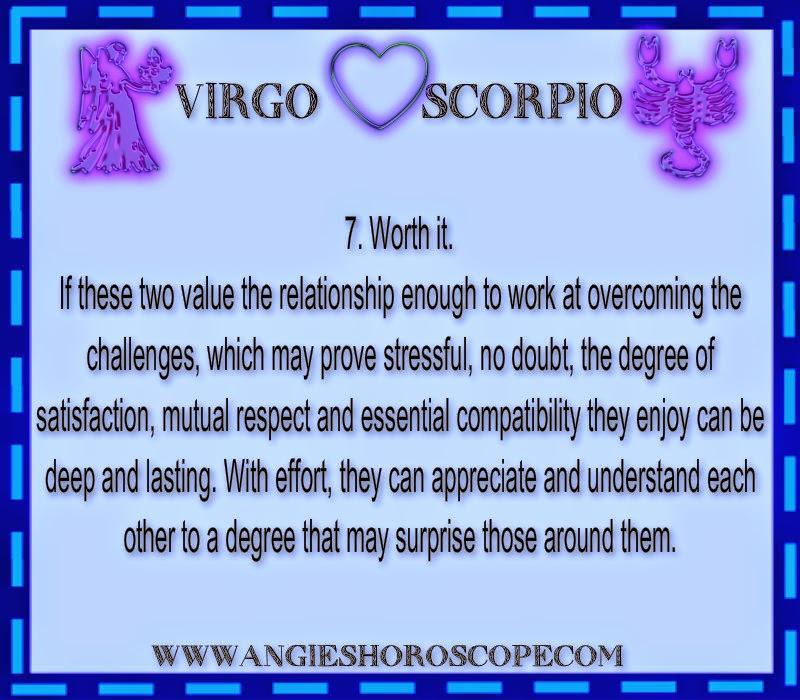 Lesbian Compatibility Horoscope. Scorpio Virgo Sex