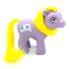 MLP Baby Alphabet Year Nine Playschool Babies G1 Pony