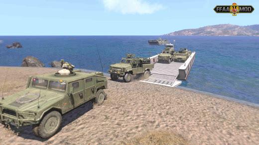 arma3用スペイン軍MODのLCM-1E
