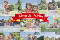 Logo Il Mese del Puzzle Ravensburger: vinci 1.023 puzzle e 1 soggiorno a Ravensburger