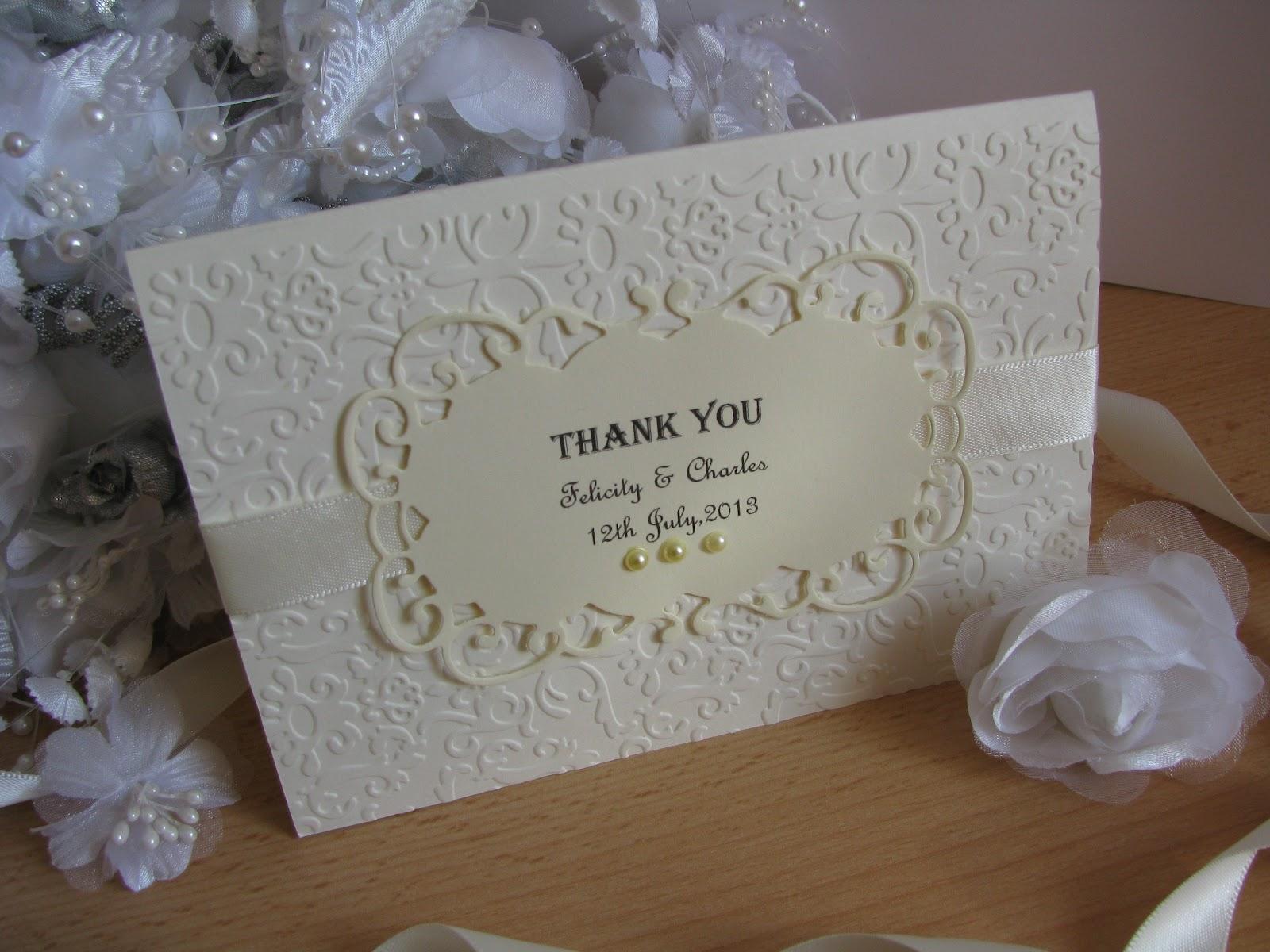 thank you wedding cards Personalised Vintage Wedding Invitation Stationery set Handmade offer 10 off eBay