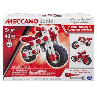 TOYS : JUGUETES  Meccano Junior - Motocicleta | Moto  Bizak 2016 | Piezas: 49 | Edad: +5 años  Comprar en Amazon España