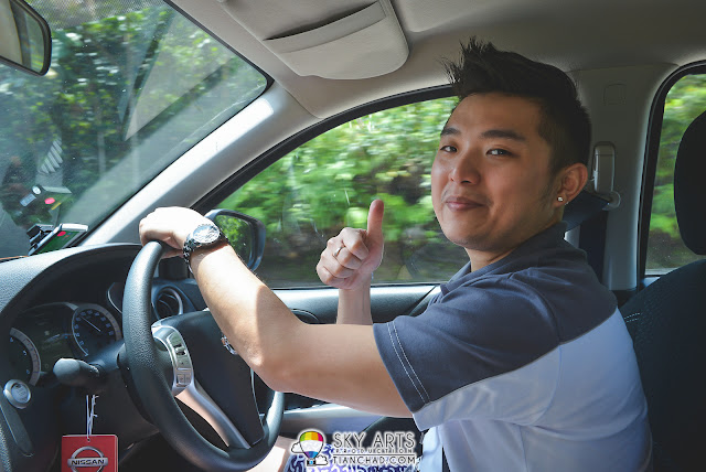 My co-driver throughout this roadtrip - SaiMatKong bro