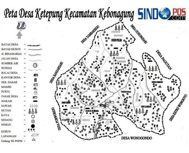 Profil Desa & Kelurahan, Desa Ketepung Kecamatan Kebonagung Kabupaten Pacitan