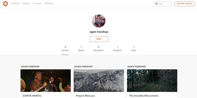 Agan Harahap on Qubicle.id