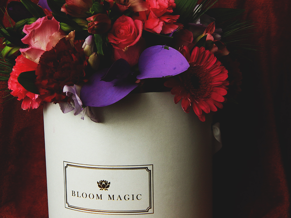 Bloom Magic Flower Delivery Service Review Ad Cardigan