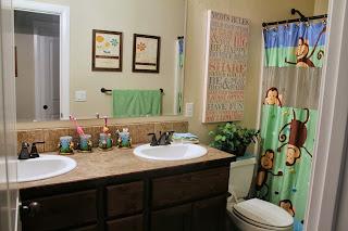 The Condon Clan The Kids Bathroom