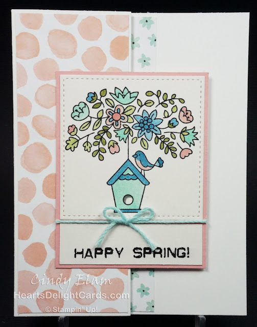 Heart's Delight Cards, Flying Home, Stampin' Up!, Happy Spring, MIFD4