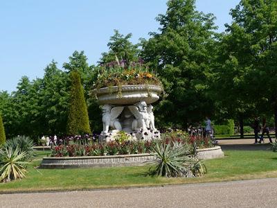 Regent Park à Londres