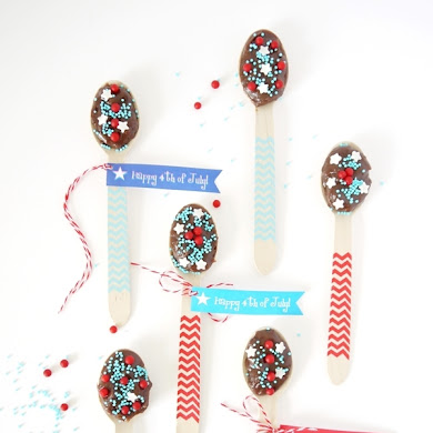 4th of July Free Party Printables Tags