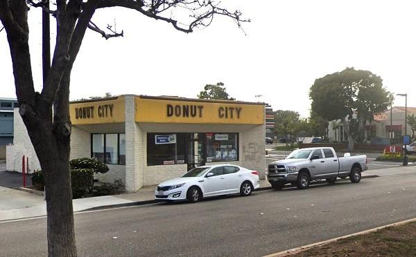 Donut City located in Seal Beach, California.