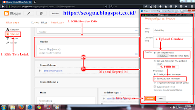 Tutorial Cara memasang Header Blog