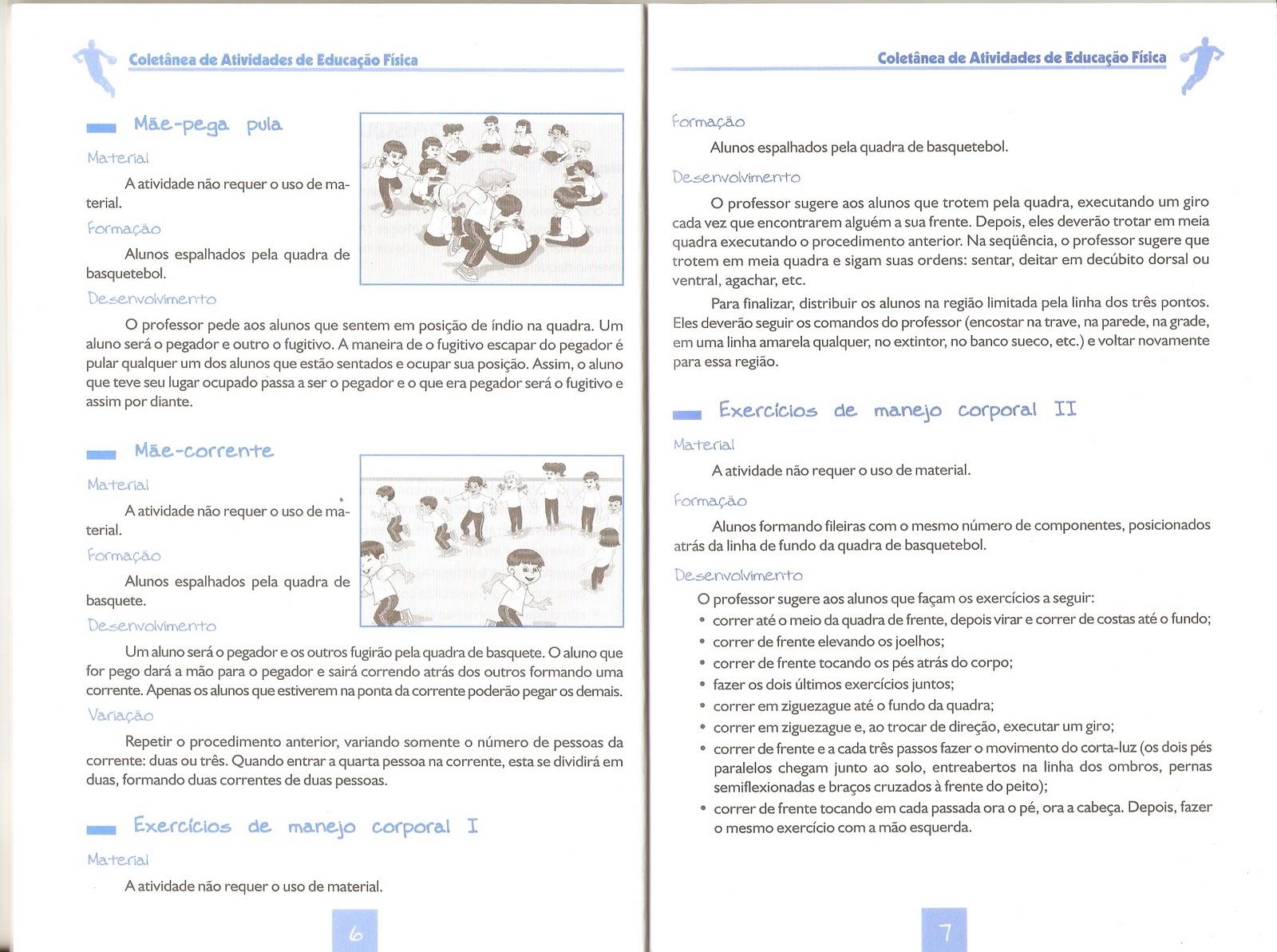 COLETÂNEA DE ATIVIDADES DE EDUCAÇÃO FÍSICA PARA O ENSINO MÉDIO E ENSINO  FUNDAMENTAL - BASQUETE 53865974e1a5b