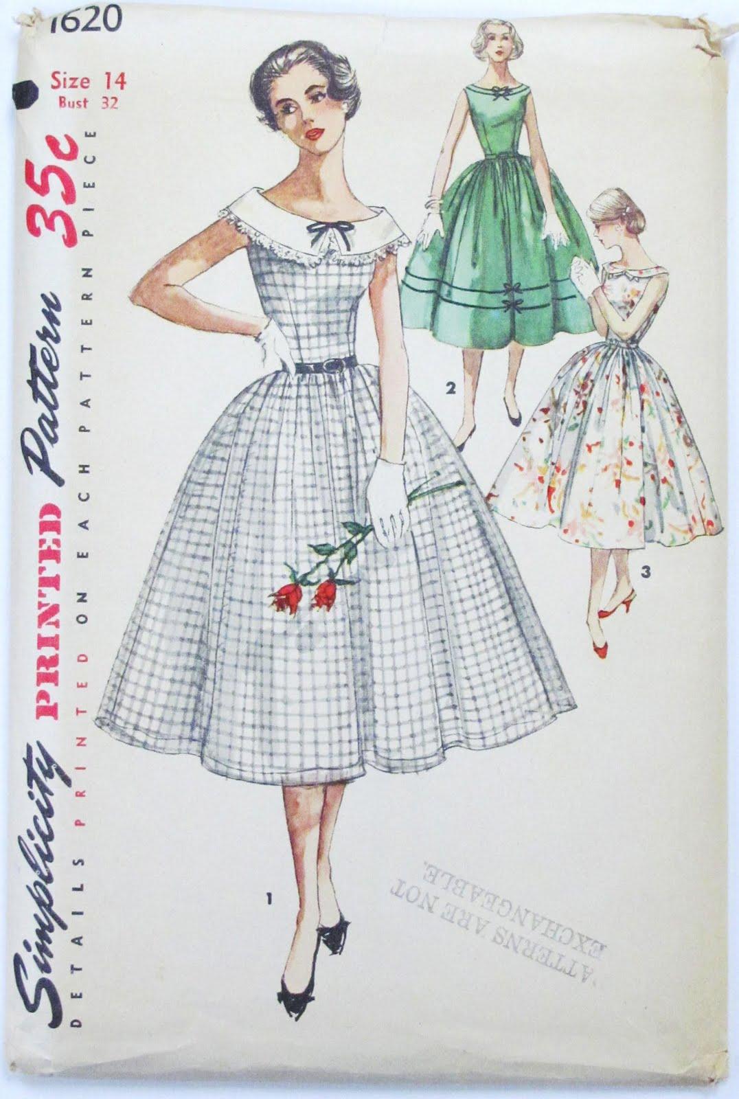 Vintage Pattern Sewing 92