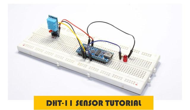 Arduino DHT11 sensor tutorial
