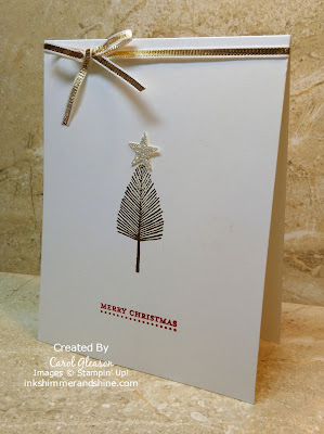 Photo of Totally Trees Christmas Card inspired by Stampin' Up!