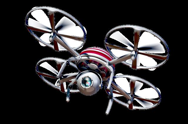Drone Quadrocopter per fotografie aeree