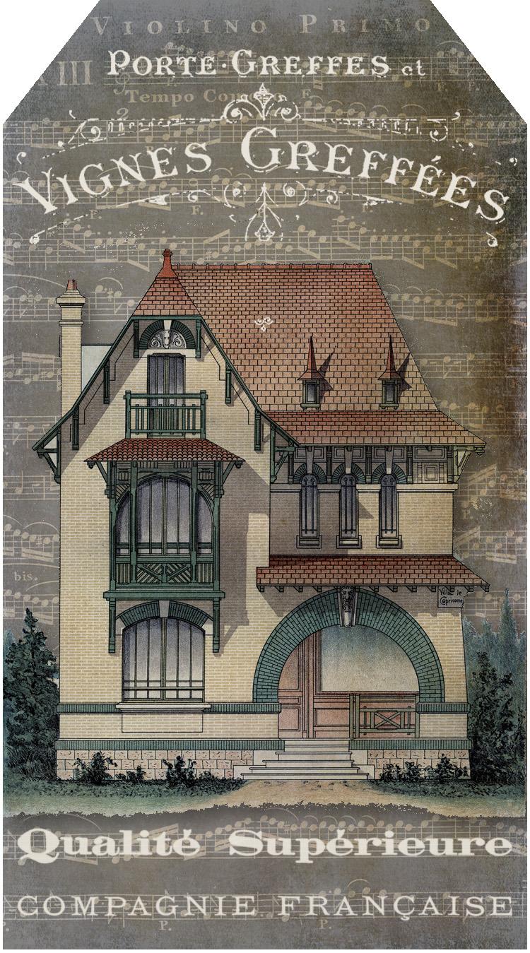 Bountiful Heirlooms: Free Printables: French Ephemera Tags