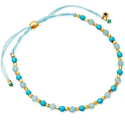 One Simple Gemstone to Transport you on Holiday - Astley Clarke - Amazonite and Turquoise Bracelet