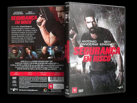 Capa DVD Segurança em Risco