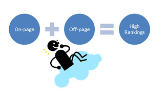 on-page off page seo