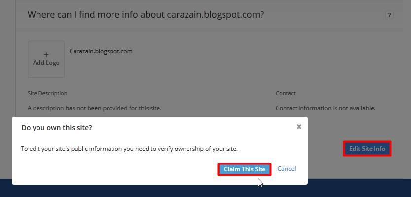 Cara Mendaftarkan Blog Ke Alexa Rank Terbaru