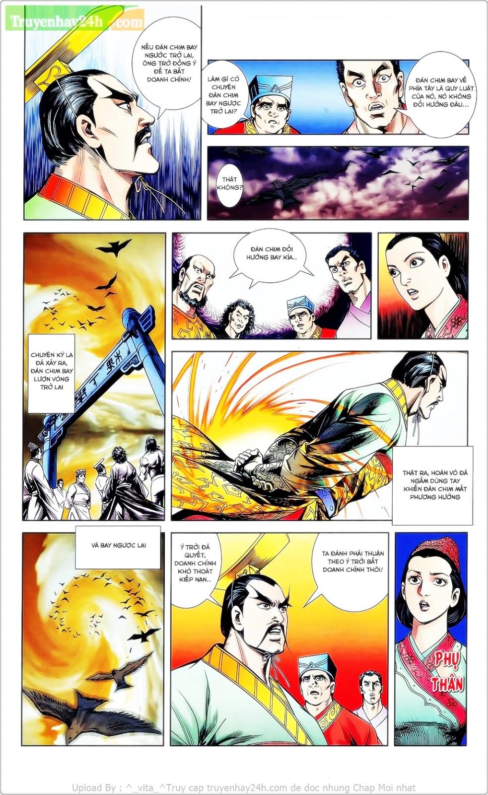 Tần Vương Doanh Chính chapter 23 trang 13