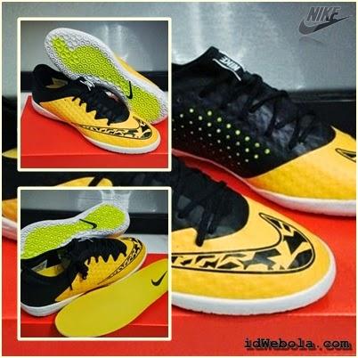 Sepatu Futsal Nike Elastico Finalle III - Kuning