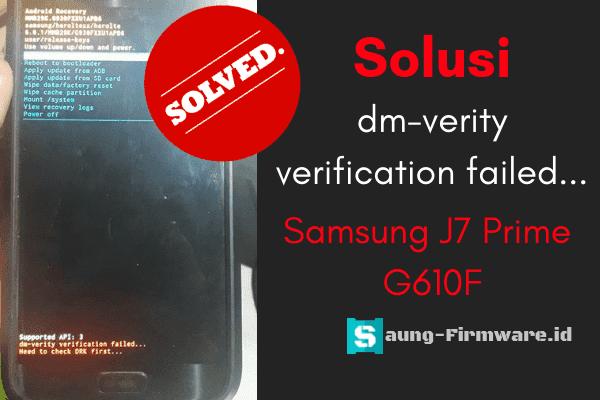 Cara repair DRK Samsung J7 Prime