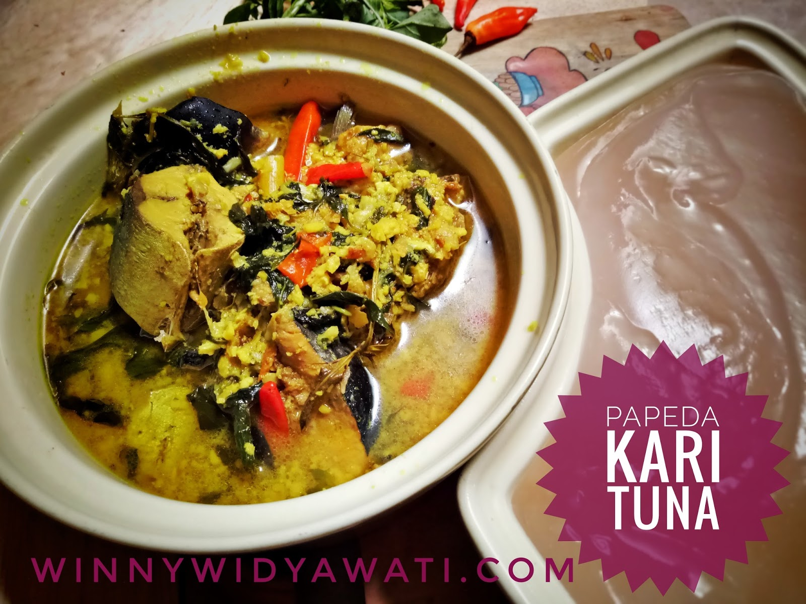 Winny Widyawati Resep Papeda Kari Tuna Ala Papua