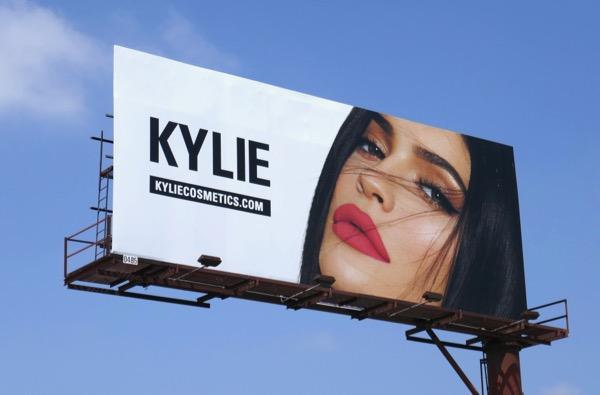 Kylie Cosmetics May 2018 billboard