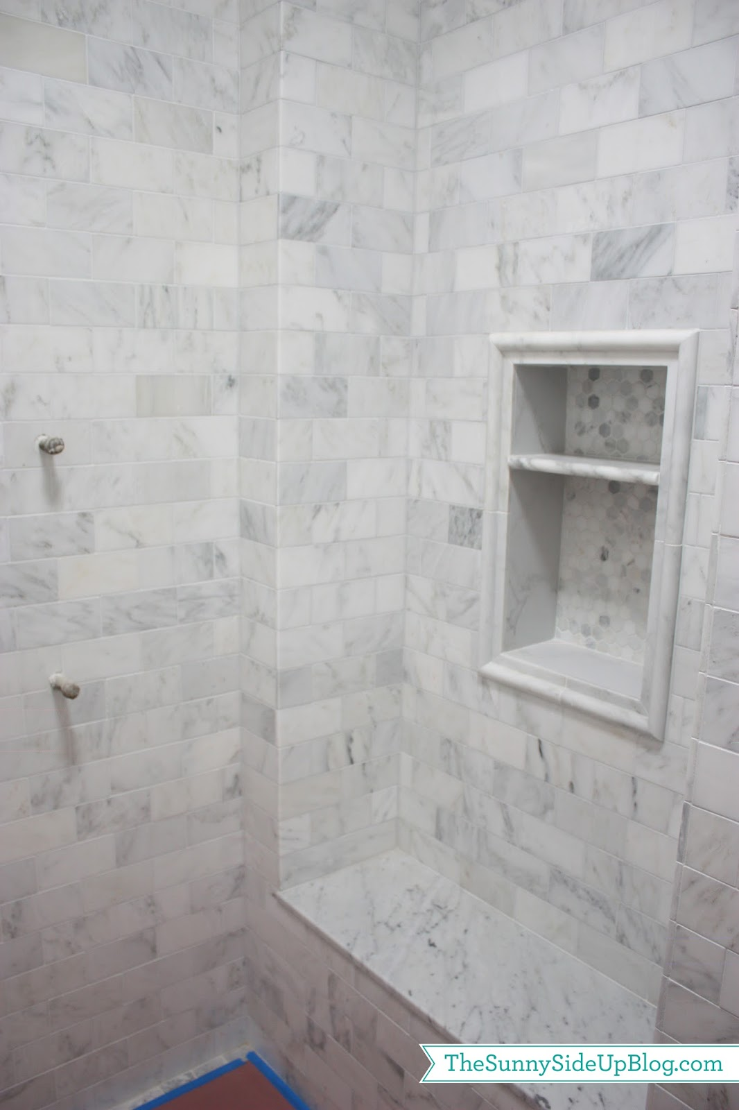 Master Bathroom Remodel Ideas Carrara Marble Dreams The Sunny Side Up Blog