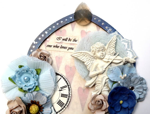 Musical Cherub Among Flowers on a George Michael Tribute Arch by Dana Tatar