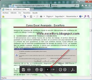 VBA: Abrir un pdf en una página específica