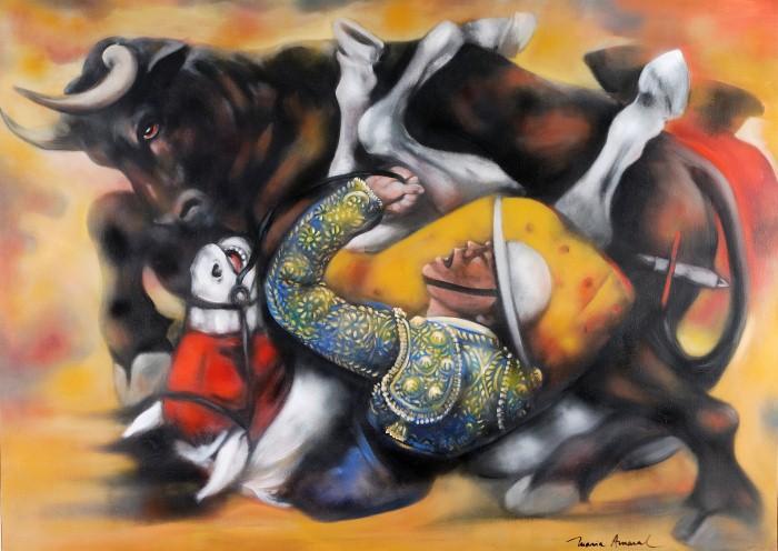 Танцы в картинах. Maria Amaral 5