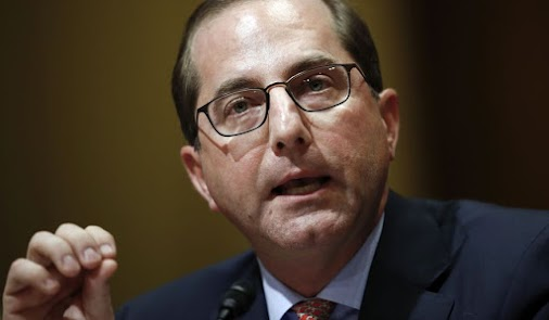 Trump's Health Secretary Alex Azar told bipartisan Lawmakers that he will have CDC and Prevention to...