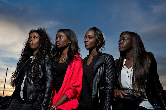 Les 4 héroïnes de Bande de filles, de Céline Sciamma (2014)