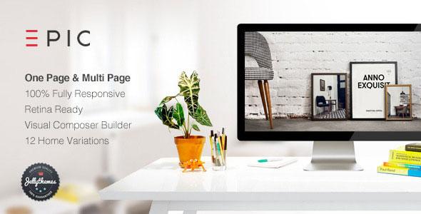 Free Download Creative EPIC - Responsive Multi-Purpose Wordpress Theme