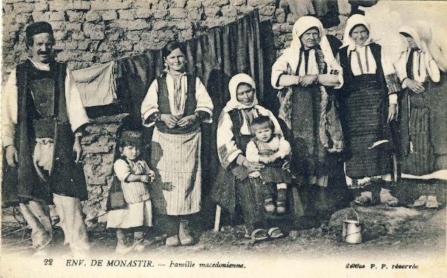 Macedonian family from the region of Bitola